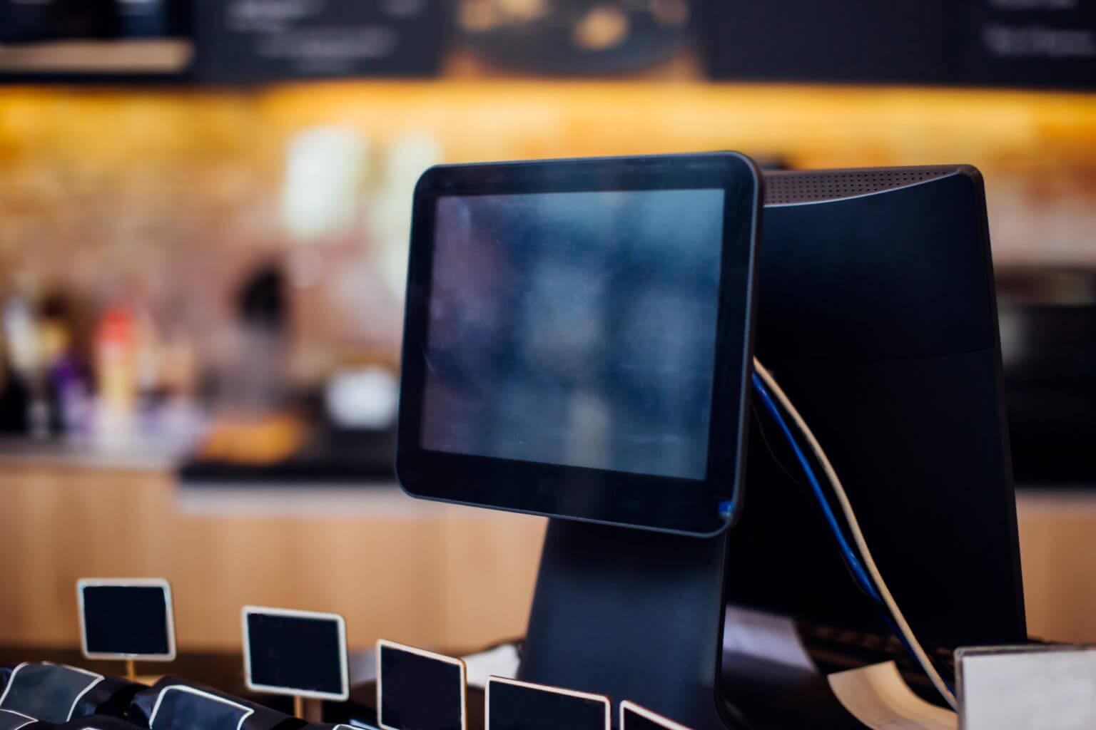 customer facing display