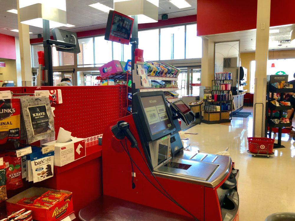 Implement self checkout systems